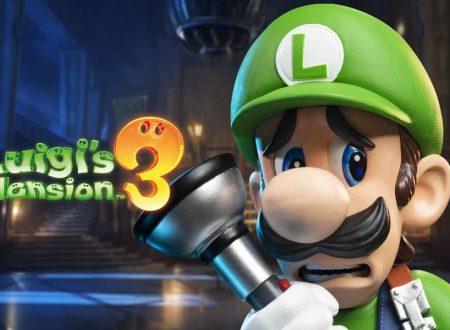 Luigi's Mansion 3: pubblicati 10 minuti di gameplay dedicati al titolo