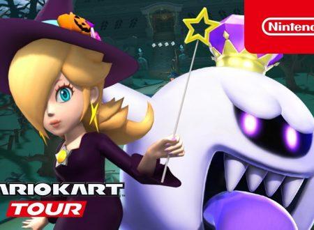 Mario Kart Tour: il tour di Halloween con Rosalinda, Luigi e Re Boo è ora disponibile su Android e iOS