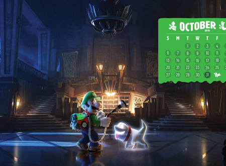 My Nintendo: uno speciale wallpaper di Luigi's Mansion 3 è disponibile nello store americano