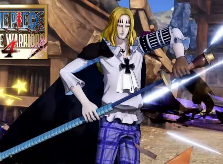 One Piece: Pirate Warriors 4, pubblicato un trailer dedicato a Basil Hawkins