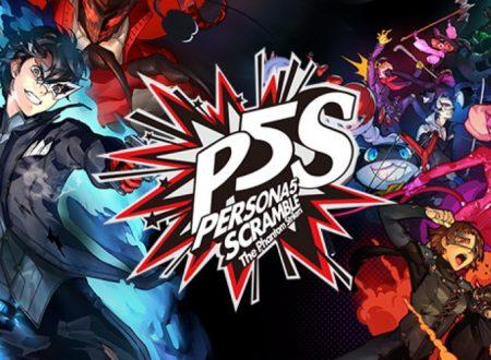 Persona 5 Scramble: The Phantom Strikers, il titolo in arrivo il 20 febbraio 2020 sui Nintendo Switch giapponesi