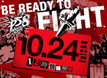 Persona 5 Scramble: The Phantom Strikers, nuove informazioni sono in arrivo il prossimo 24 ottobre