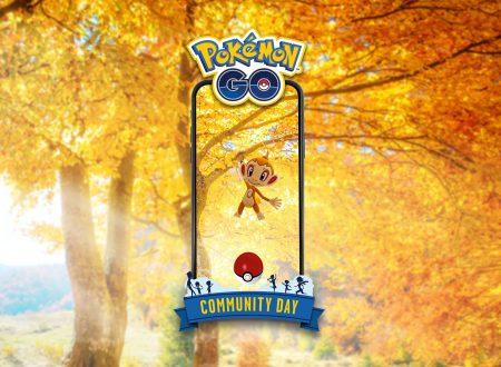 Pokèmon GO: Chimchar sarà protagonista del Community Day del mese di novembre