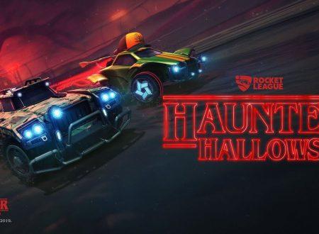 Rocket League: annunciato l'arrivo dell'evento Haunted Hallows con Stranger Things