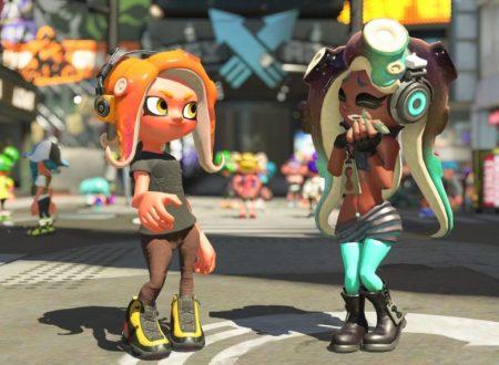 Splatoon 2: il titolo ora aggiornato alla versione 5.0.1 sui Nintendo Switch europei