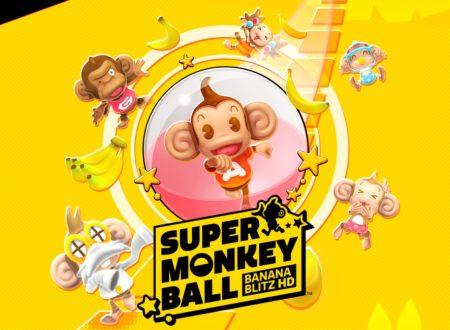 Super Monkey Ball: Banana Blitz HD, uno sguardo alla demo ora su Nintendo Switch