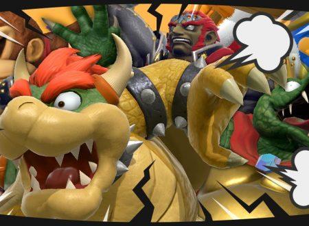 Super Smash Bros. Ultimate: svelato l'arrivo del torneo: Pesi massimi sul ring