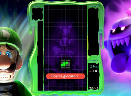 Tetris 99: uno sguardo in video al tema di Luigi's Mansion 3 nell'ottavo Grand Prix