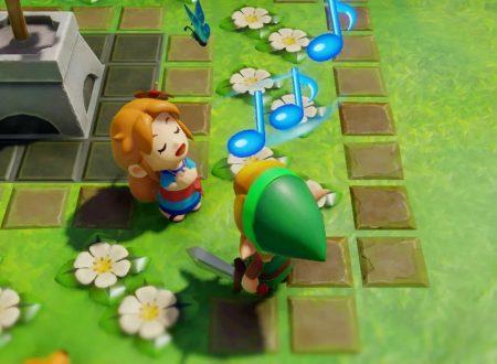 The Legend of Zelda: Link's Awakening: il titolo aggiornato alla versione 1.0.1 sui Nintendo Switch europei