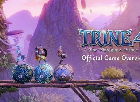 Trine 4: The Nightmare Prince, pubblicato un trailer panoramica sul titolo