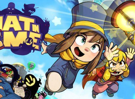 A Hat in Time: un nuovo aggiornamento e' ora disponibile sui Nintendo Switch europei