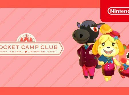 Animal Crossing: Pocket Camp, svelato l'arrivo del Pocket Camp Club, il servizio in abbonamento mensile