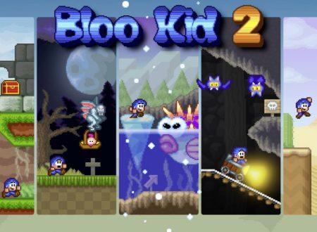 Bloo Kid 2: uno sguardo in video al titolo dall'eShop europeo di Nintendo Switch