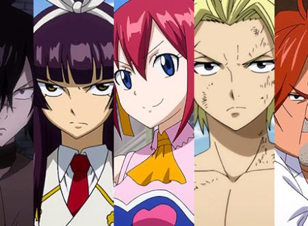 Fairy Tail: svelata la presenza nel roster di Rogue, Kagura, Sherria, Sting e Ichiya