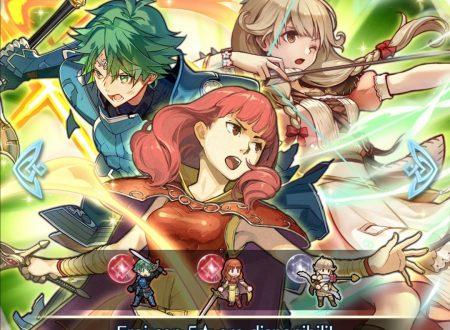 Fire Emblem Heroes: ora disponibile la Battaglia legame: Alm e Faye, assieme alla preferenza evocazione