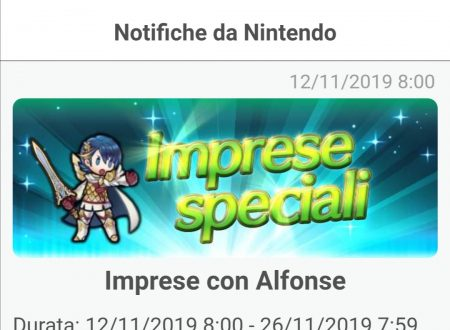 Fire Emblem Heroes: ora disponibili le nuove imprese con Alfonse