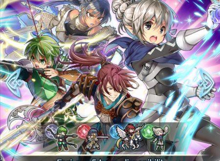 Fire Emblem Heroes: ritorno per la preferenza evocazione: nuovo potere, con Athena, Kana, Subaki e Gordin
