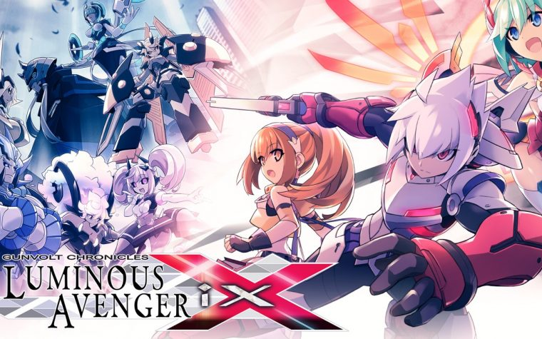 Gunvolt Chronicles: Luminous Avenger iX, il titolo aggiornato alla versione 1.3 sui Nintendo Switch europei