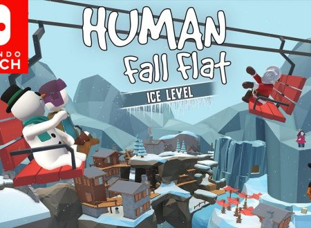 Human: Fall Flat, uno sguardo in video al nuovo stage, Ice su Nintendo Switch