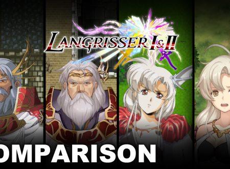 Langrisser I & II: pubblicato un video comparativo tra la versione SEGA Genesis e quella Nintendo Switch