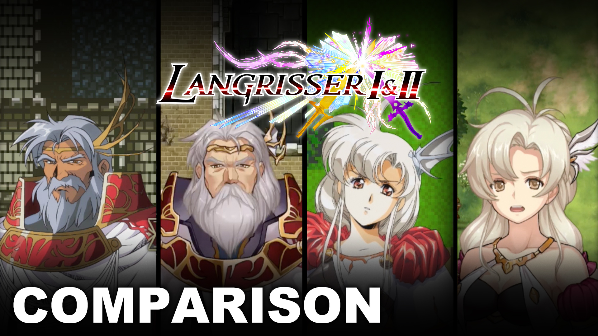 Risultato immagini per langrisser I & II comparisons