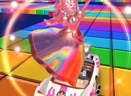 Mario Kart Tour: Peach oro rosa ora disponibile nel tubo in evidenza del Tour Invernale