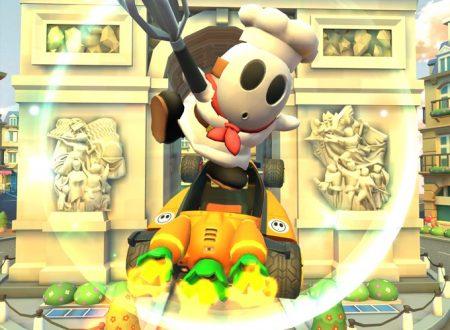 Mario Kart Tour: Tipo Timido (pasticciere) ora disponibile nel tubo in evidenza del Tour di Parigi