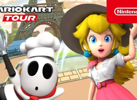 Mario Kart Tour: pubblicato un trailer dedicato all'imminente Tour di Parigi