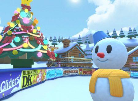 Mario Kart Tour: svelato l'arrivo imminente del Tour invernale nel titolo mobile