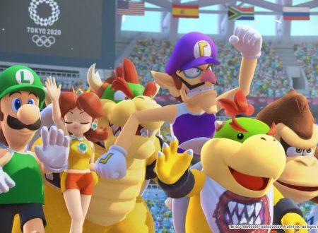 Mario & Sonic ai Giochi Olimpici di Tokyo 2020: pubblicato il trailer di lancio del titolo