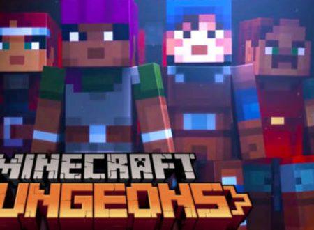 Minecraft Dungeons: il titolo è in arrivo nell'aprile 2020 su Nintendo Switch