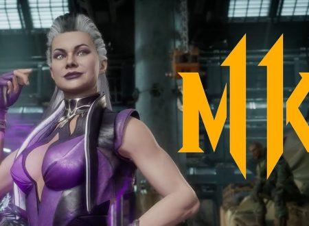 Mortal Kombat 11: pubblicato un trailer dedicato al DLC di Sindel