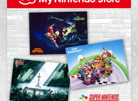 My Nintendo: disponibili dei set di poster di Super Mario Kart, Super Metroid e The Legend of Zelda: A Link to the Past per Super Nintendo