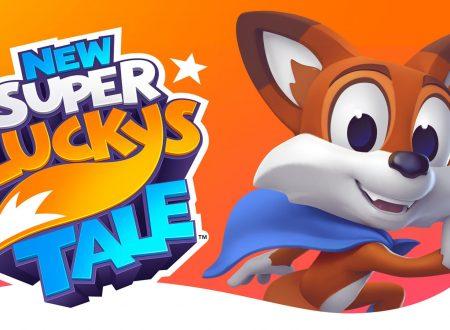 New Super Lucky's Tale: uno sguardo in video alla demo dai Nintendo Switch europei