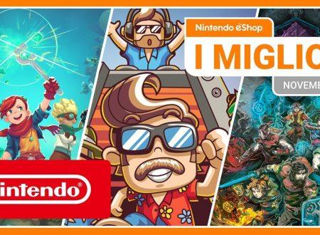 Nintendo eShop: video highlights dei titoli del mese di novembre 2019