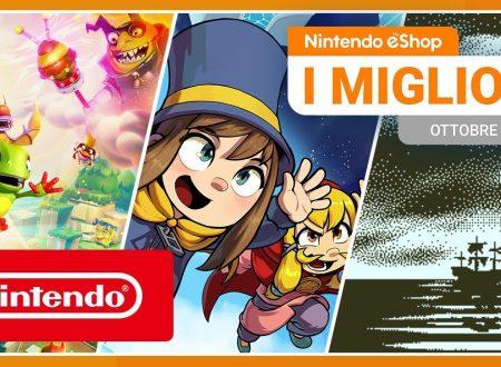 Nintendo eShop: video highlights dei titoli del mese di settembre 2019