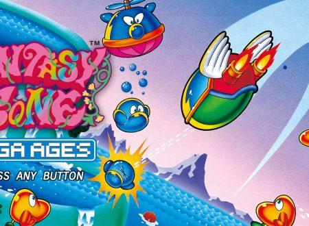Sega Ages Fantasy Zone: uno sguardo in video al titolo dai Nintendo Switch giapponesi