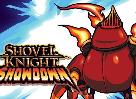 Shovel Knight Showdown, pubblicato un nuovo trailer dedicato a Mole Knight