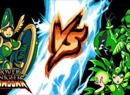 Shovel Knight Showdown, un nostro sguardo in video gameplay al titolo alla versione STEAM con Shield Knight