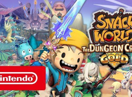 Snack World: The Dungeon Crawl – Gold, il titolo in arrivo il 14 febbraio sui Nintendo Switch nostrani