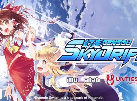 Touhou Gensou SkyDrift: il titolo è in arrivo il 12 dicembre sull'eShop di Nintendo Switch