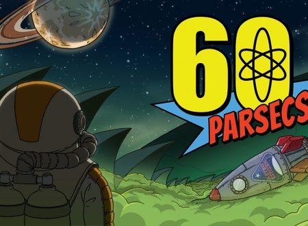 60 Parsecs!: il titolo in arrivo il 20 dicembre sull'eShop di Nintendo Switch