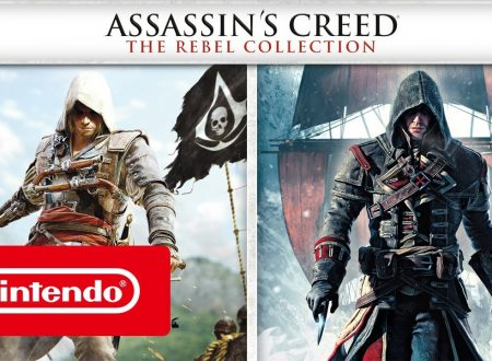 Assassin's Creed: The Rebel Collection, pubblicato il trailer di lancio della raccolta su Nintendo Switch europei