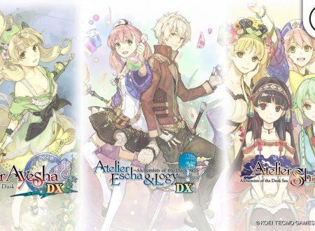 Atelier Dusk Trilogy Deluxe Pack: pubblicato un promo trailer sulla raccolta su Nintendo Switch