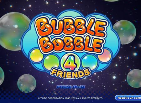 Bubble Bobble 4 Friends: il titolo aggiornato alla versione 1.0.1E sui Nintendo Switch europei