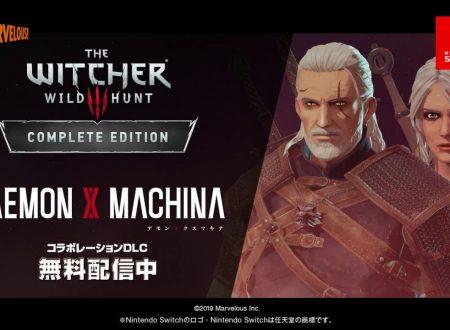 Daemon X Machina: annunciata una nuova collaborazione con The Witcher 3