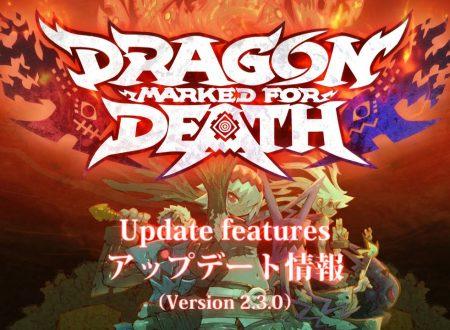 Dragon: Marked for Death: la versione 2.3.0 è ora disponibile su Nintendo Switch