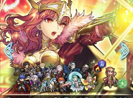 Fire Emblem Heroes: ora disponibile la nuova sessione di Botte da røkkr e la preferenza evocazione, Eroi Leggendari: Celica, regina di Valentia