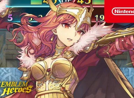 Fire Emblem Heroes: svelato l'arrivo dell'evento evocazione, Eroi Leggendari: Celica, regina di Valentia