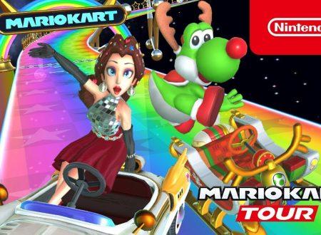 Mario Kart Tour: pubblicato un nuovo trailer dedicato al Tour Festivo nel titolo mobile